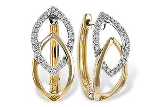 G243-80899: EARRINGS .25 TW