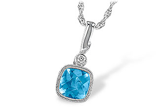 L241-07226: NECK 1.03 BLUE TOPAZ 1.05 TGW